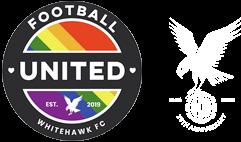 Football United and Whitehawk FCsLogo