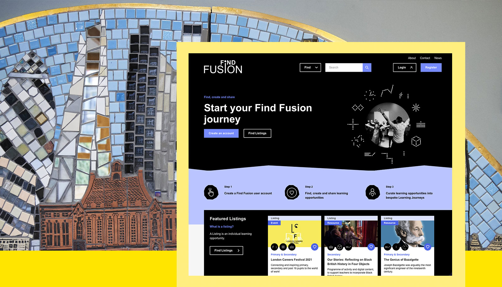 Screenshot of the 'Find Fusion